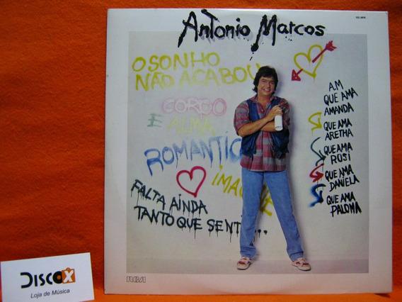 Antonio Marcos O Sonho Não Acabou - Lp Disco De Vinil Promo
