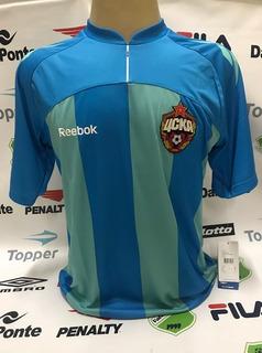 Camisa Oficial Cska Moscow Unif 3 Reebok Tamanho G