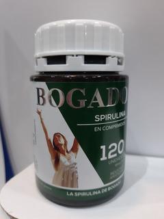 Spirulina Bogado 120 Comprimidos, 500mg Pilar