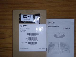 Epson Unidad Lan Wifi Elpap07 Para Proyectores