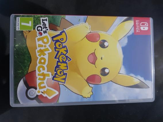Jogo Pokemon Lets Go Pikachu Nintendo Switch Midia Fisica