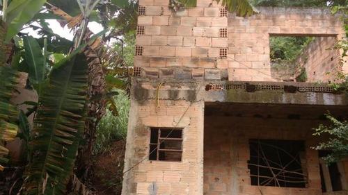Lote Com Construção Faltando Acabamento No Icaivera. - 1625