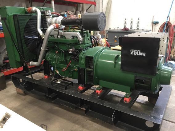 Generador Eléctrico 250kw