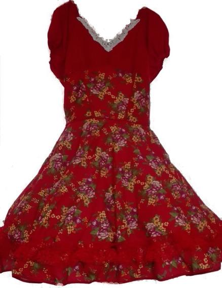 Vestido Huasa China Cueca Fiestas Patrias