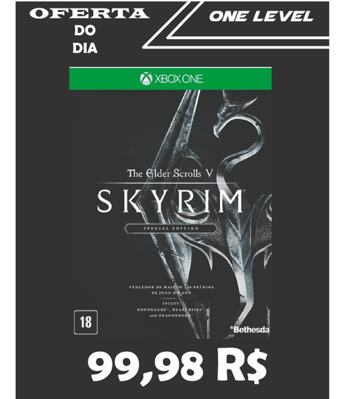 The Elder Scrolls V Skyrim Xbox One Ed Especial-