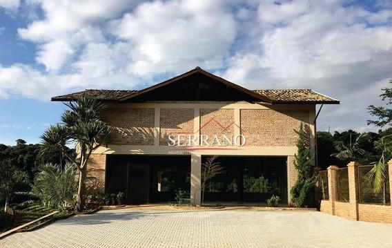 Salão À Venda, 386 M² Por R$ 2.370.000,00 - Caixa D´água - Vinhedo/sp - Sl0018
