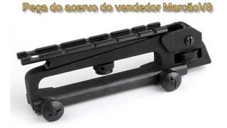 Alça De Mão Carry Handle + Trilho Tatico P Rifle Ar15 M16 M4