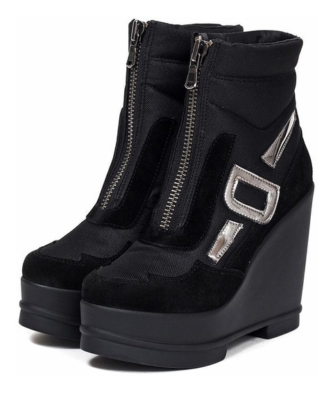 Botinetas Negras - Botas - Saverio Di Ricci - Zapatos
