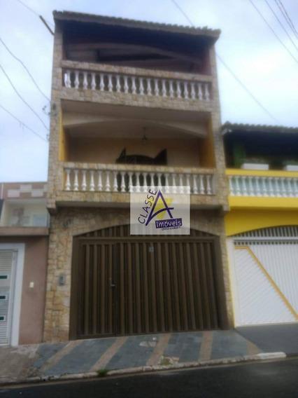 Sobrado À Venda, 320 M² Por R$ 700.000,00 - Jardim Anchieta - Mauá/sp - So0051