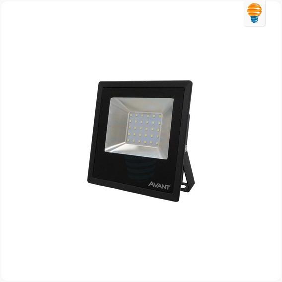 Kit Com 8 Refletores Holofotes Led 50w Avant 6500k Original