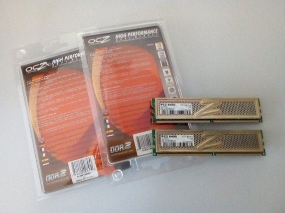 Memoria Ram Ddr2 Ocz Gold Edition 2gb
