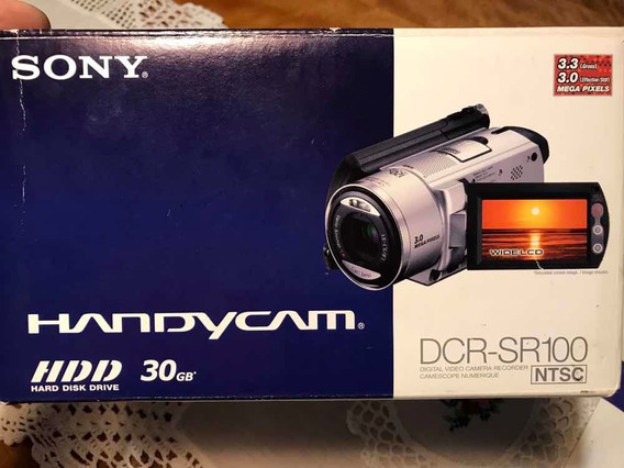 Filmadora Sony Handycam Sr100