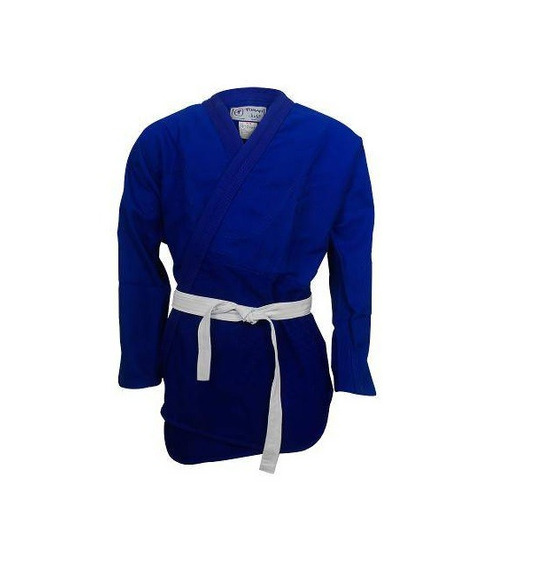 Kimono Combate Kids Judo/ Jiu Jitsu Torah Azul M3 Infantil