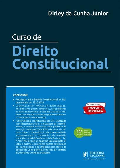 Curso De Direito Constitucional-dirley Da Cunha 2020