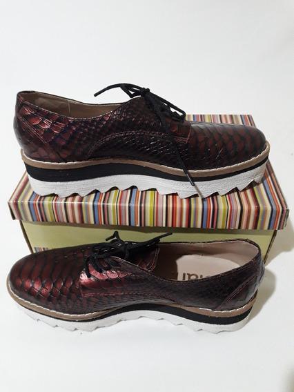 Zapatos De Cuero Nuevos N° 36 Liquidacion Invierno