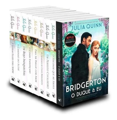 Kit Julia Quinn: Os Bridgertons (coleção Completa - 9 Vol)