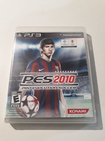 Pes 2010 Pro Evolution Soccer Ps3 Mídia Física