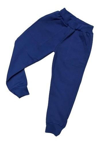 Pack X 3 Pantalon Jogging Liso Frizado De Niños