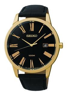 Reloj Hombre Seiko Sgeh14p1. Cuero Legitimo. Nuevo