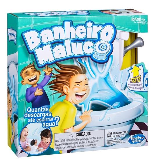 Jogo Hasbro Banheiro Maluco Branco - C0447