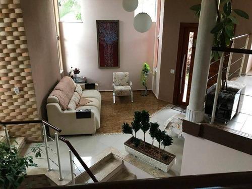 Casa Residencial À Venda, Condomínio Portal Do Jequitibás - Valinhos/sp - Ca0122