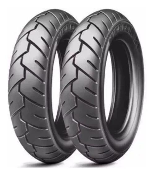 Par Pneu Michelin 3.50x10 Suzuki Burgman 125
