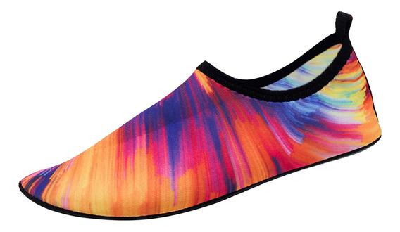 1 Par Zapatos De Agua De Zapatilla Para Nadar, Piscina,