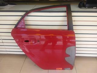 Porta Traseita Direita Hb20 Hacth Original Vermelha #2