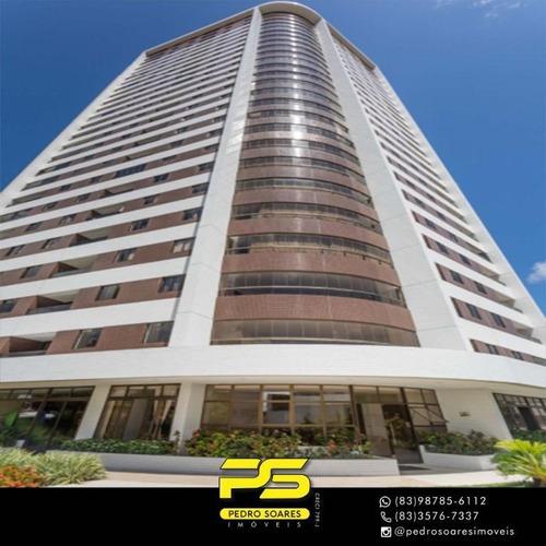 Apartamento Com 2 Dormitórios À Venda, 76 M² Por R$ 480.000 - Estados - João Pessoa/pb - Ap3253