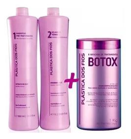 Combo Progressiva Plástica Dos Fios Selagem + Botox