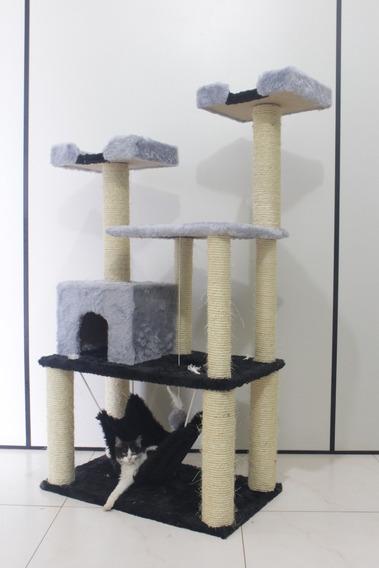 Arranhador Para Gato Madagascar Gigante Torre