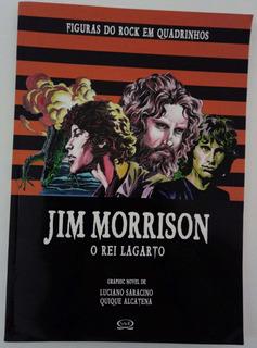 Livro Figuras Do Rock Em Quadrinhos - Jim Morrison