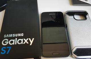 Samsung Galaxy S7 Flat Com Nota Fiscal - Sem Carregador