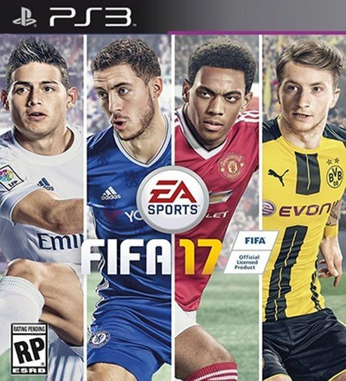 Fifa 17 Ps3 Futebol Psn Digital Dublado Português