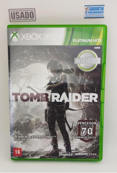 Jogo Tomb Raider Xbox 360 Mídia Física Usado