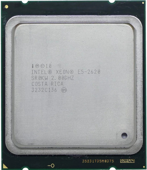 Processador Intel® Xeon® E5-2620 6 Núcleos 12 Threads