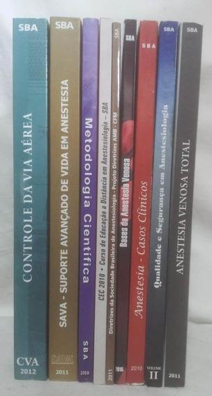 9 Livros De Medicina Sobre Anestesia Anestesiologia - Sba