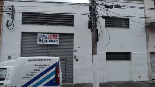 Imagem 1 de 15 de Venda/locação - Galpão Comercial 400mt² - Chácara Santo Antônio - São Paulo/sp - Rr4795