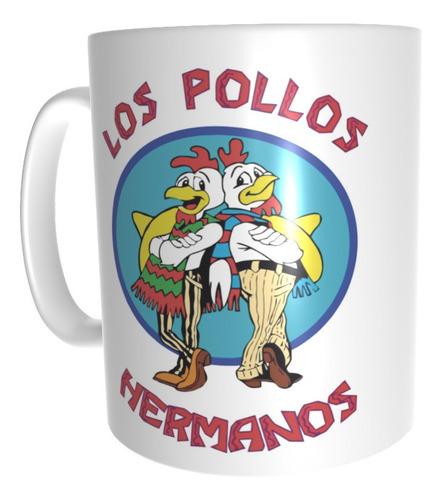 Taza Pollos Hermanos Breaking Bad Series De Tv #124