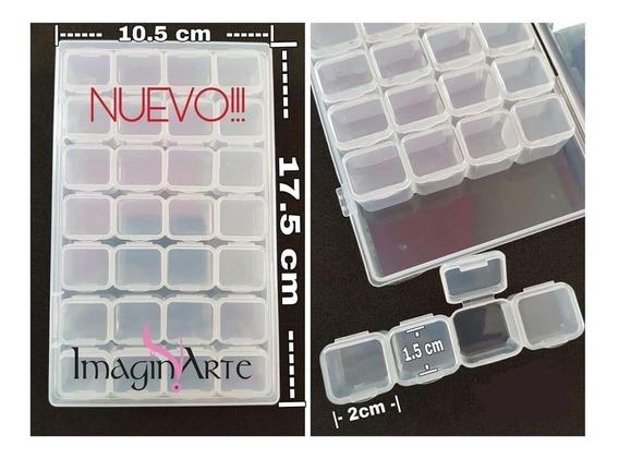 Caja Organizadora Plástica Con 28 Compartimientos