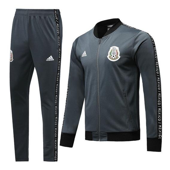 Conjunto Buzo Casaca Mexico adidas