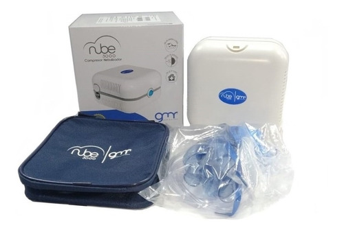 Nebulizador Portatil Adulto Y Pediatrico Gmd Nube + Estuche
