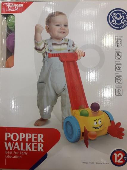 Juguete Caminadora C/ Sonido P/ Niños Popper Walker +12meses