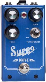 Supro 1305 Drive Pedal De Overdrive Para Guitarra Eléctrica