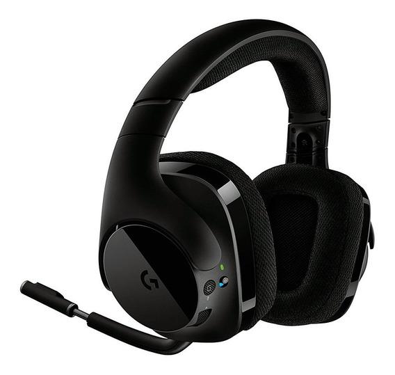Headset Gamer Logitech G533 Wireless 7.1 Surround 981-000633