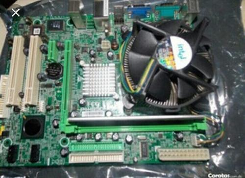 Combo Tarjeta Madre Am3 Con Pro Cooler 2gb Ram Factura Elect