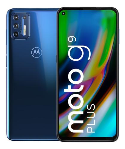 Celular Motorola Moto G9 Plus 128gb Azul