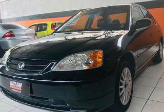 Honda Civic 1.7 Lx Automático 4 Portas