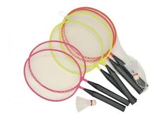 Kit Badminton Infantil Raquetes E Peteca - Winmax