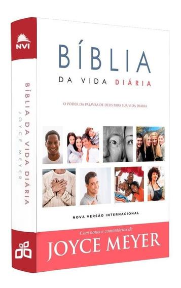 Bíblia De Estudo Joyce Meyer. Bíblia Da Vida Diária Nvi